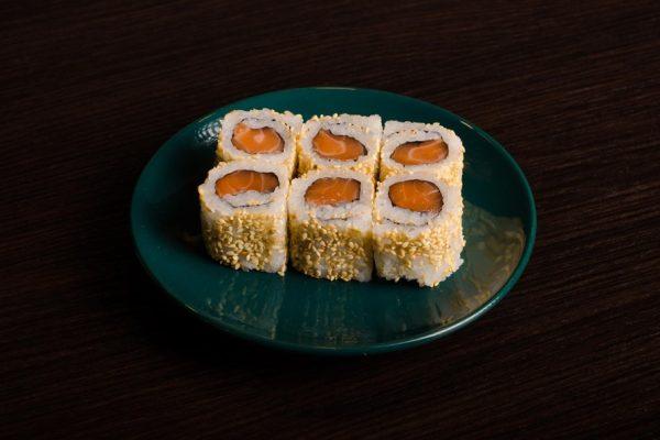 3-Miniuramaki z łososiem
